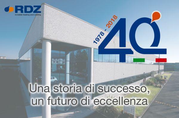 40 anni di successi per RDZ