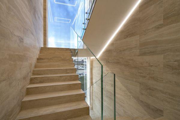 Vista interna dei nuovi uffici dell'ENAV a Roma