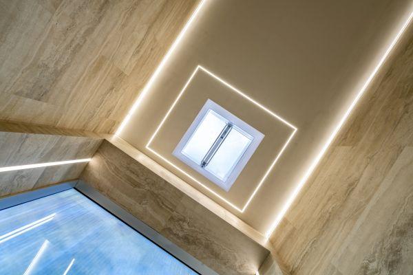 Box vetrato in copertura dei nuovi uffici Enav di Roma