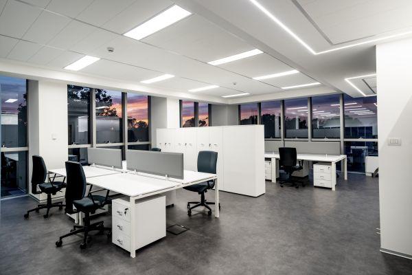 I nuovi uffici dell'Enav: minimal ed eleganti