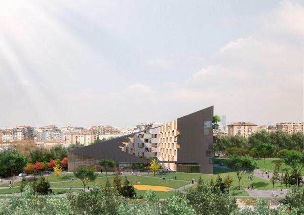"""La """"corte verde"""" firmata Stefano Boeri Architetti a Milano"""