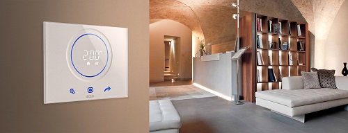 Termostato intelligente per spazi interni