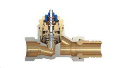 Valvola KOMBI-TRV per il bilanciamento idraulico degli edifici