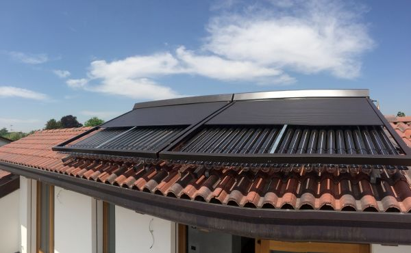 Tapparella solare di energia eco finbi
