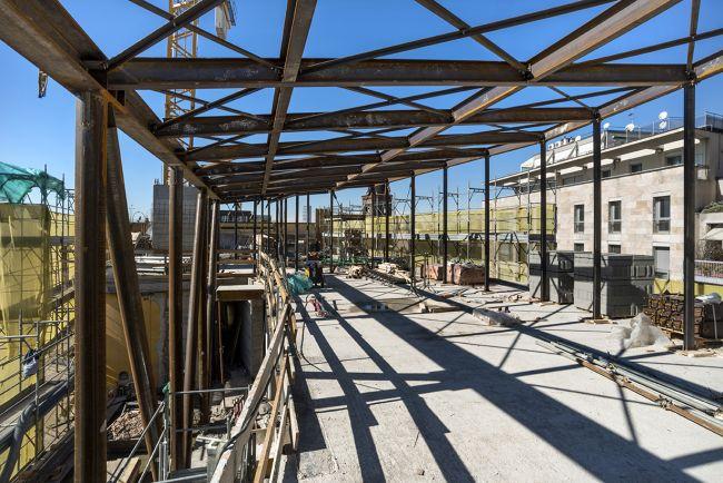 Restyling copertura progetto Fatebenefratelli a Milano