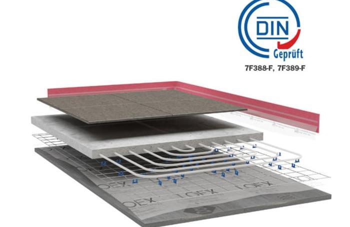 soluzione di riscaldamento a pavimento LOEX home X14-X17