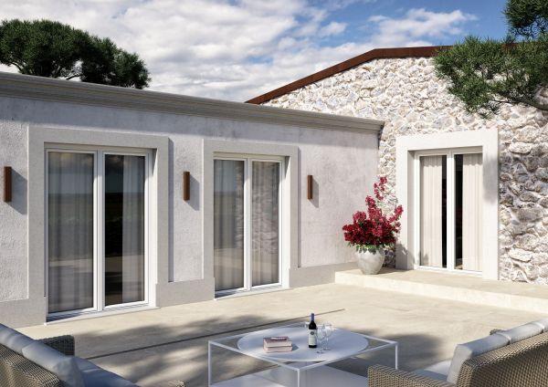 Casa fresca in estate e calda in inverno con il serramento Winergetic Premium Passive