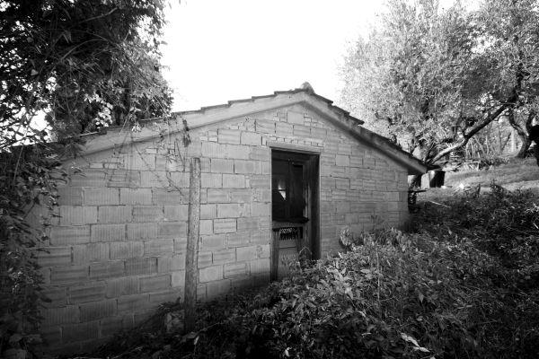 La casa di Serravalle Pistoiese prima della ristrutturazione