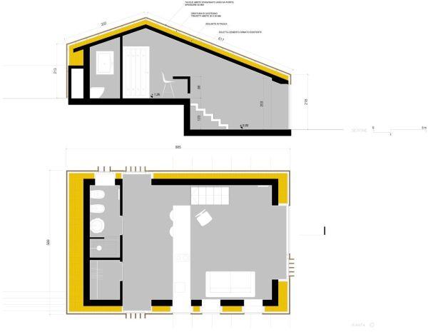 Pianta casa Pistoia, esempio di economia circolare