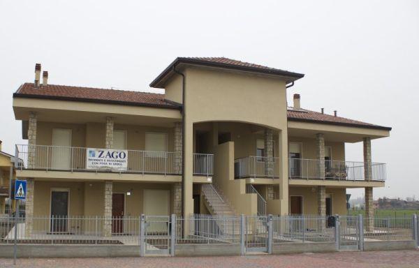 Nuovo complesso edilizio realizzato in provincia di Verona. Riscaldamento Chaffoteaux