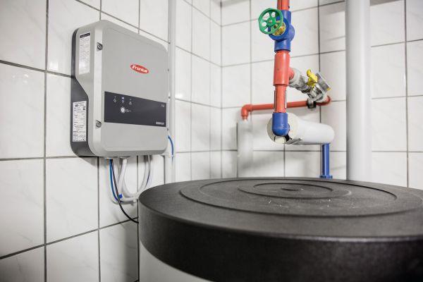 Fronius Ohmpilot copre il fabbisogno di acqua calda grazie all'impianto fotovoltaico