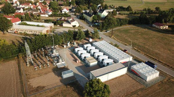 Tecnologia SMA per il sistema di accumulo da 16 MW di Upside