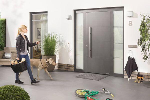 Nuova porta di ingresso ThermoSafe di Hormann