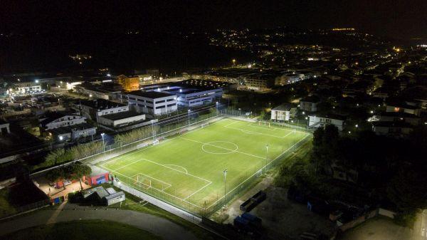 Illuminazione efficiente per il campo di Silvi Marina firmata Gewiss