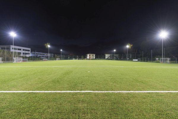 Gewiss per la riqualificazione dell'impianto di illuminazione del campo di campo di Silvi Marina