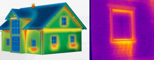 Individuare i ponti termici tramite la termografia