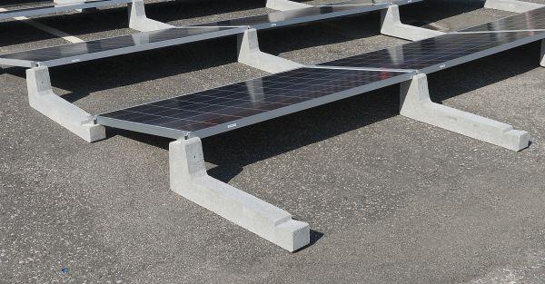 Sistema Connect Sun Ballast per l'installazione di impianti fotovoltaici su coperture piane