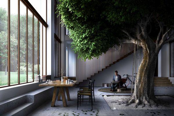 Greenary: la casa attorno all'albero di Carlo Ratti Associati per Mutti