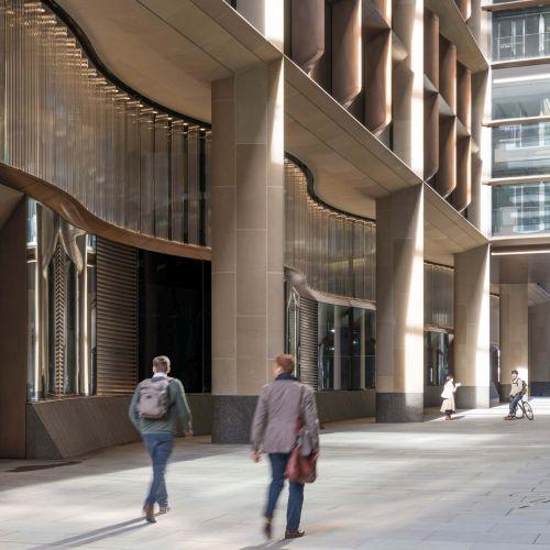 Nuovo headquarter Bloomberg a Londra ad alta sostenibilità