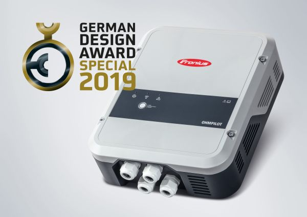 German Design Award 2019 per Fronius Ohmpilot