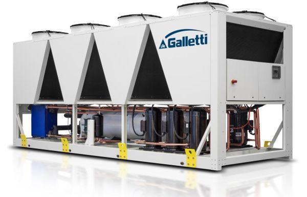 Galletti: Nuovo servizio di noleggio Chiller e Pompe di Calore