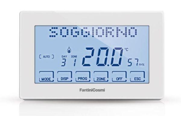 nuovo cronotermostato Intellicomfort CH180 RF WIFI di Fantini Cosmi