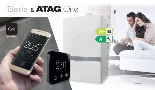 Caldaia a condensazione ATAG iSerie ECO e cronotermostato Atag One