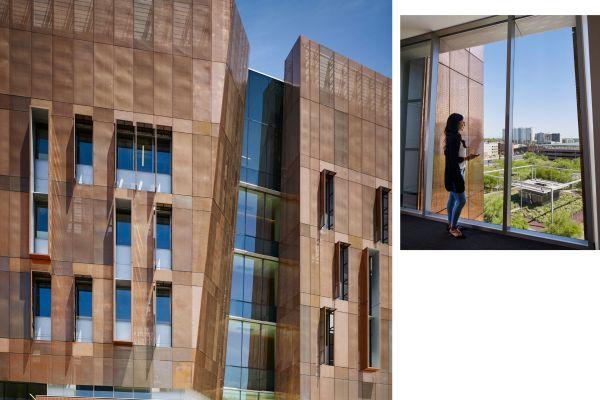 Massima illuminazione naturale per il nuovo campus dell'Università di Arizona