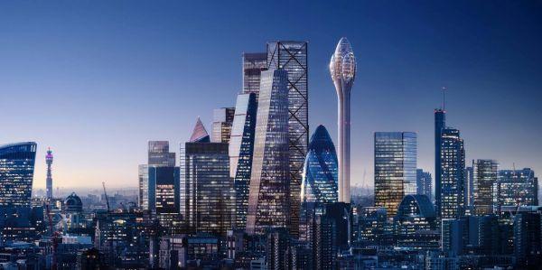 Il grattacielo futuristico The Tulip targato Foster + Partners per Londra