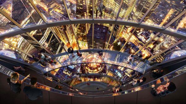 Una vista mozzafiato dal grattacielo londinese The Tulip