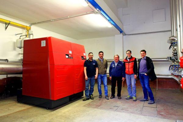 La caldaia a condensazione UltraGas 400D scelta nella riqualificazione dell'azienda KTC