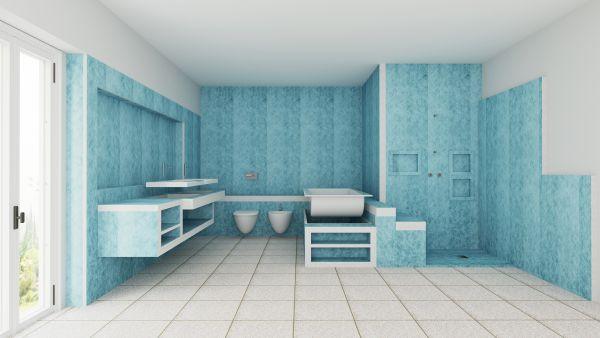 pannelli T-Coboard di TeMa per la ristrutturazione rapida dei bagni