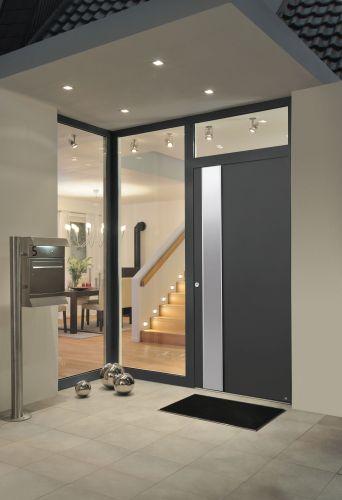 La porta di ingresso ThermoSafe di Hormann ad alto isolamento termico