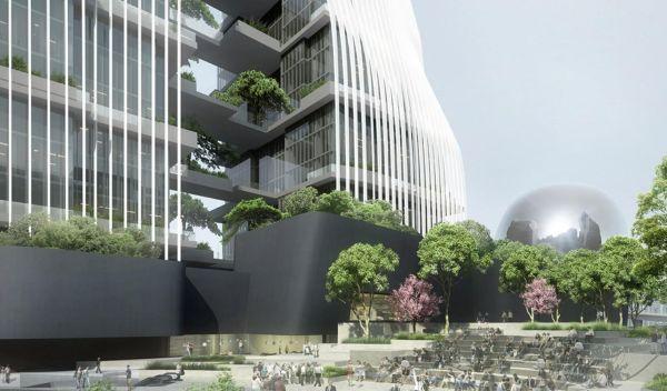 Nanjing Zendai Himalaya Center dello studio di architettura MAD