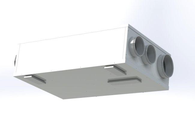 Innova: unità di ventilazione e deumidificazione HRA-i PLUS in pompa di calore