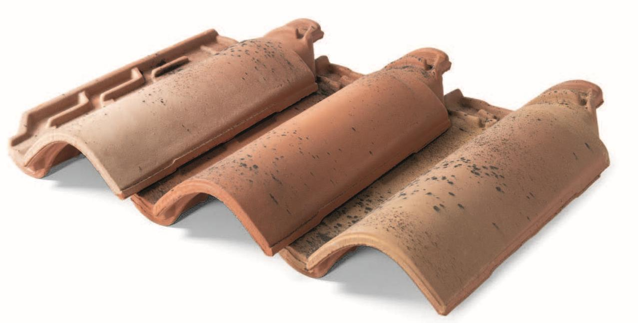 AEROTILE, la tegola ventilata di Industrie Cotto Possagno, nella tonalità Firenze