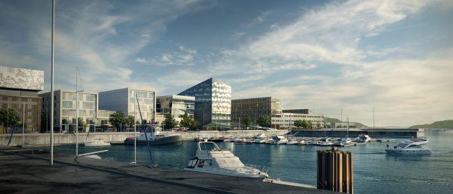 Powerhouse Brattorkaia, anche la Norvegia avrà il suo ufficio ad energia positiva