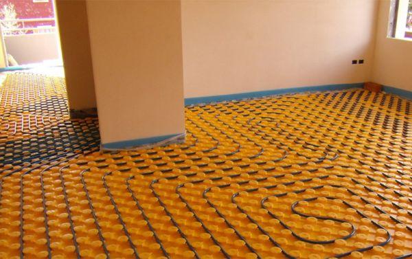 Impianti radianti a pavimento soffitto o parete