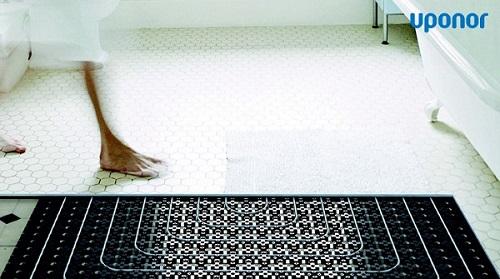 Sistema radiante a pavimento