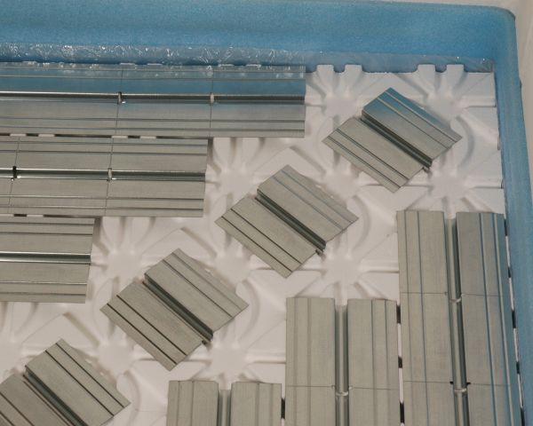 Cofloor a secco di Oventrop per il riscaldamento e il raffrescamento radiante