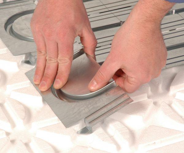 Cofloor a secco per il riscaldamento e il raffrescamento radiante
