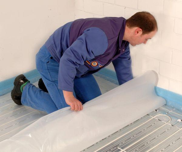 Sistema Oventrop Colfloor a secco per installazione pannelli radianti