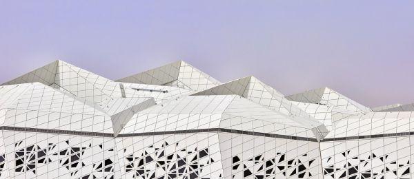 Centro di ricerca KAPSARC di Riyad sostenibile e certificato Leed Platinum