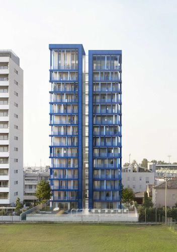 Cross Lam Tower a Jesolo, l'edificiol in legno più alto d'Europa