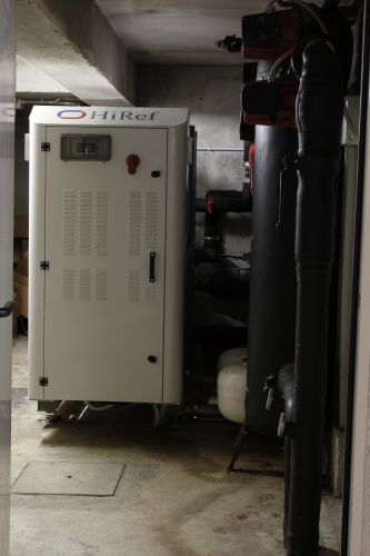 Pompa di calore geotermica prodotta da HiRef