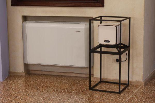 Ventilconvettori Galletti sono stati prodotti su misura per Palazzo Zabarella