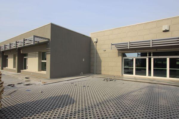 Brianza Plastica per l'isolamento termico della scuola di Dossobuono