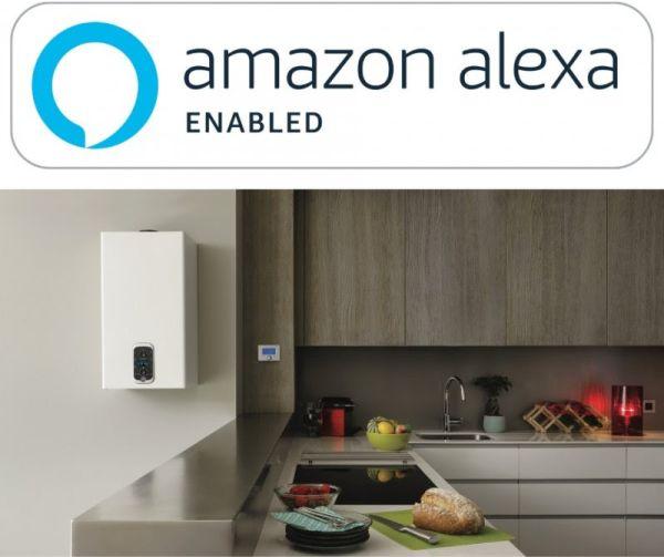L'impianto di riscaldamento Chaffoteaux dialoga con Alexa