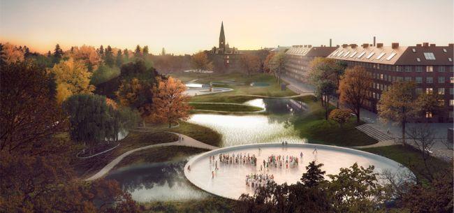 Progetto di riqualificazione sostenibile del quartiere di Nørrebro in Danimarca