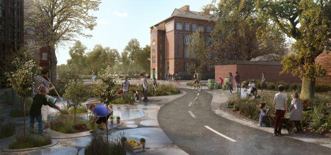 Il quartiere di Nørrebro a Copenaghen gestito da una comunità che guarda alla sostenibilità e alla socialità